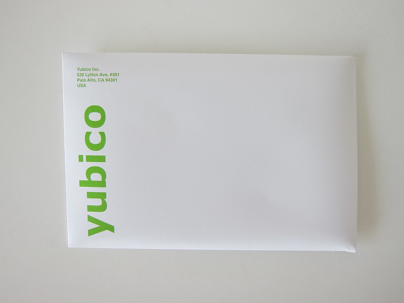 Yubico YubiKeys Series 5 - Media Drop Package - Front