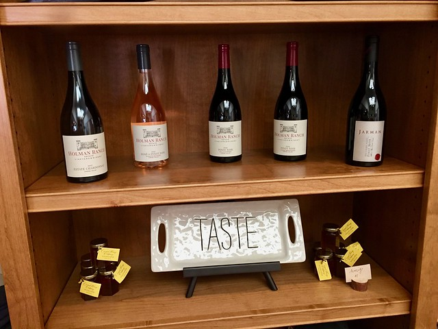 Holman Ranch Wine Tasting, Carmel by the Sea, CA