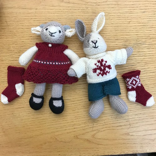 Kathy's Ellie and Colin are ready for the holidays!