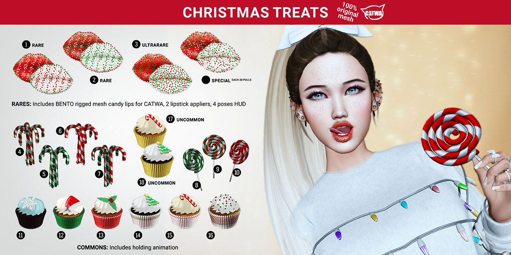 SEmotion Libellune Christmas Treats Gacha Set @ TCF - TeleportHub.com Live!