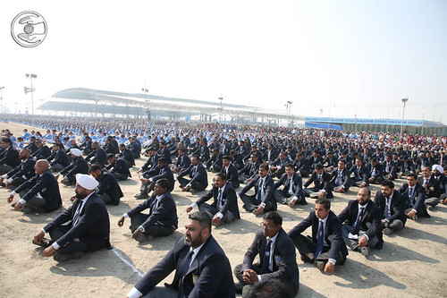 A view of Sewadal Rally during discourse