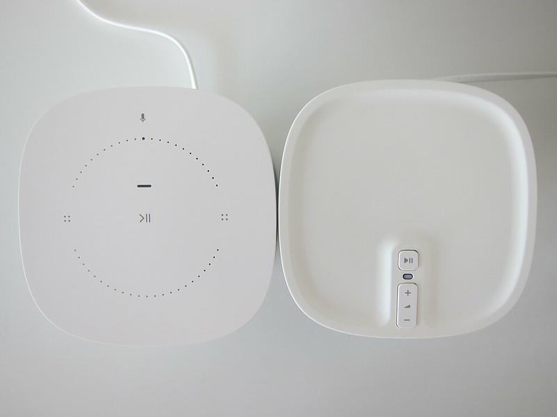Sonos One (White) vs Sonos Play:1 (White) - Top