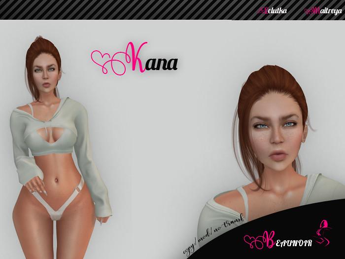 Beaunoir* Maitreya-Lelutka simon- Kana shape - TeleportHub.com Live!