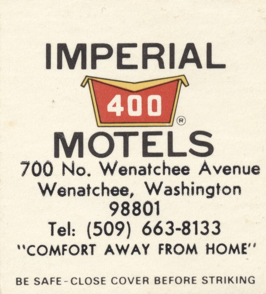 Imperial '400' Motel - Wenatchee, Washington