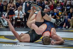 285# – Quinn Miller UVA defeated Zach Elam UM 6-3