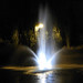 White Fountain In The Night