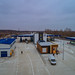 Palanca joint border crossing point (drone photo shooting)