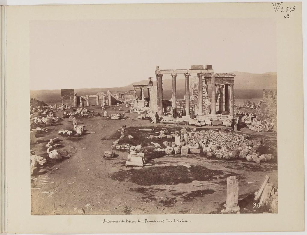 Альбом из 21 фото. из Афин и Пирея в 1880 году, подарок доктора Фювьера-10