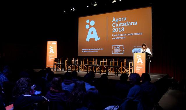 Àgora Ciutadana 2018. Una ciutat compromesa socialment