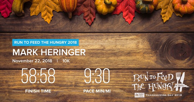 2018 Run to Feed the Hungry