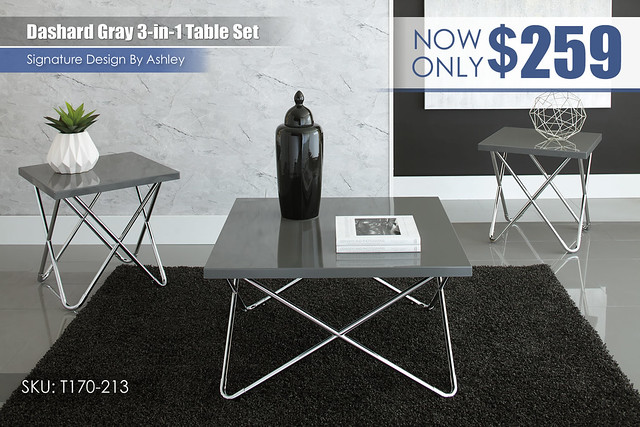 Dashard Gray 3 in 1 Table Set_T170-213