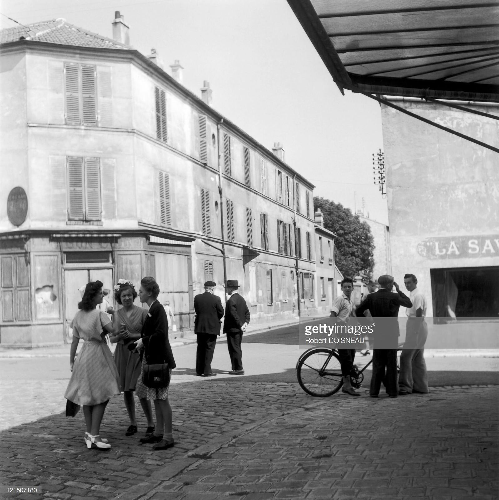 1945. Повседневная жизнь в Аркёй, пригороде Парижа