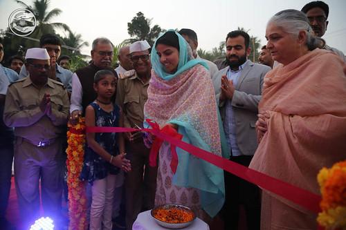 Inauguration of Newly constructed Satsang Bhawan