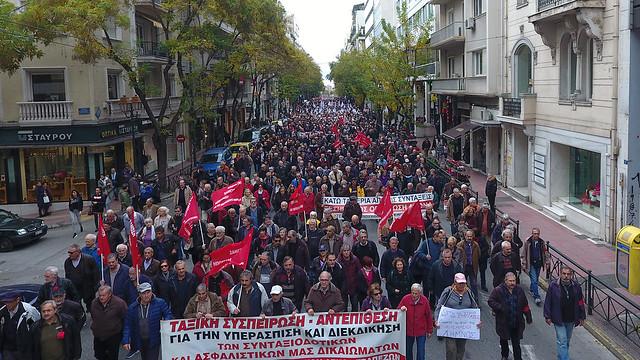 15-12-2018 Πανελλαδικό Συλλαλητήριο Συνταξιούχων στην Αθήνα