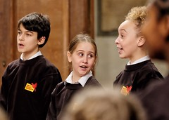 Children from the Pimlico Musical Foundation Choir