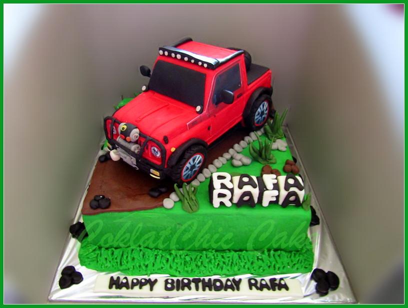 Cake Mobil Jimny Offroad RAFA 20 cm