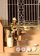 Street Vendor, Trindad, Cuba