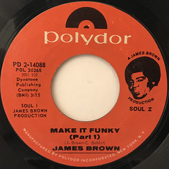 JAMES BRWON:MAKE IT FUNKY(LABEL SIDE-A)