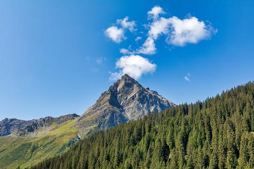 Mountaintop in Gargellen