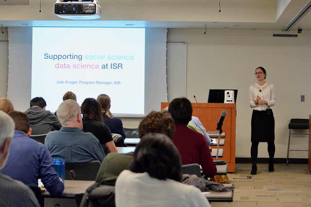 Data Science Lunch at the Institute for Social Research