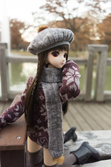 Hanako and Fountain Bench 5