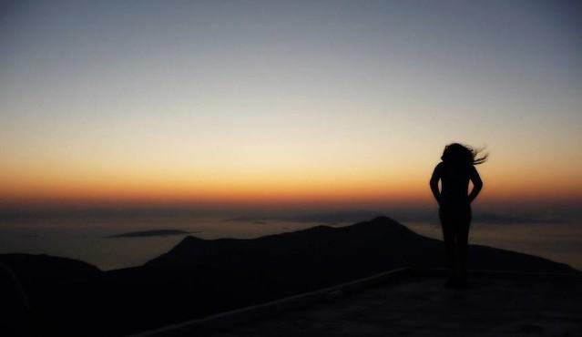 Sonnenaufgang Profitis Ilias