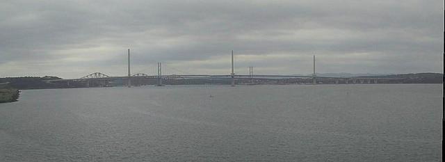 Three Bridges Across the Forth