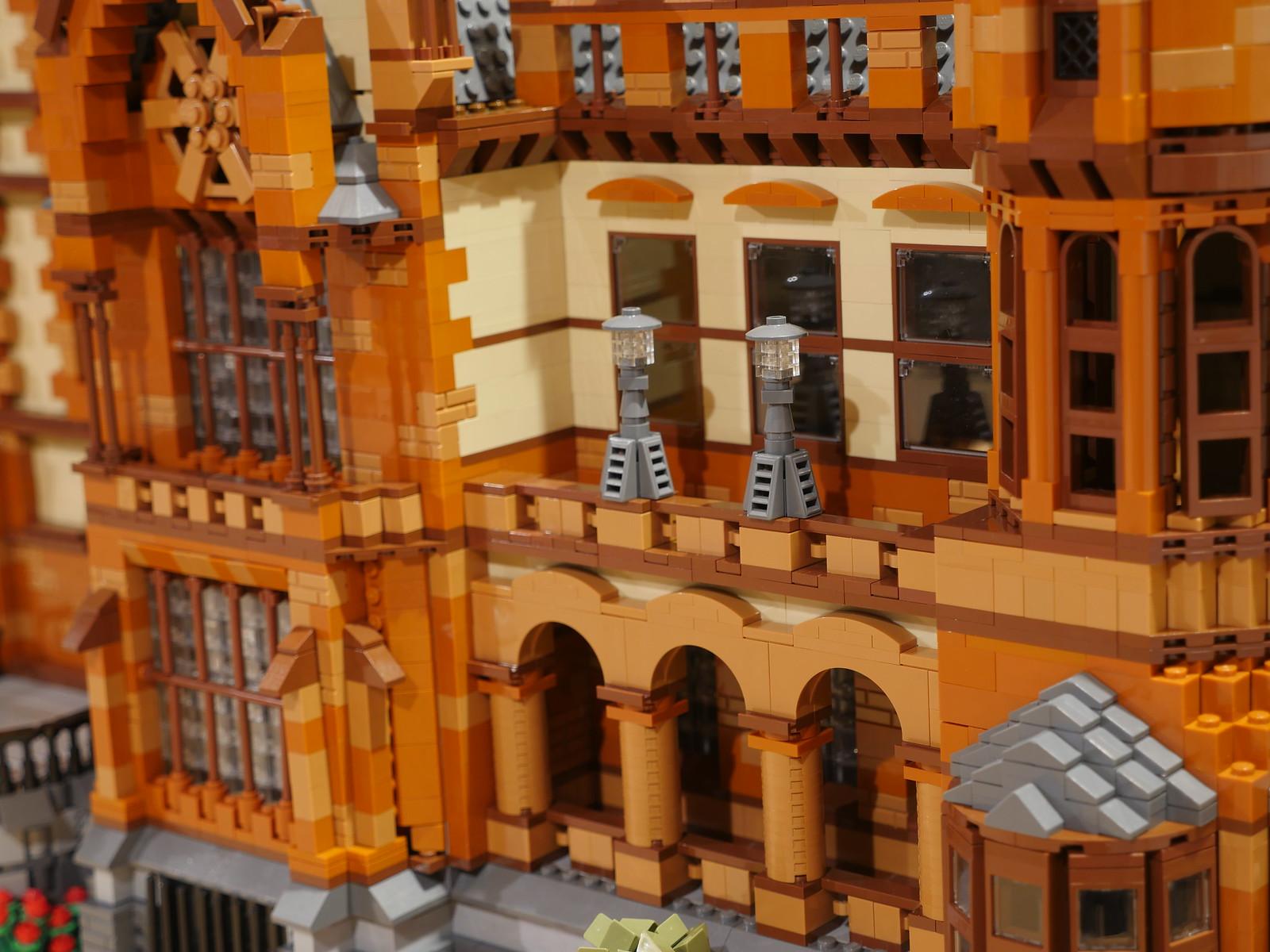 лего немецкий замок