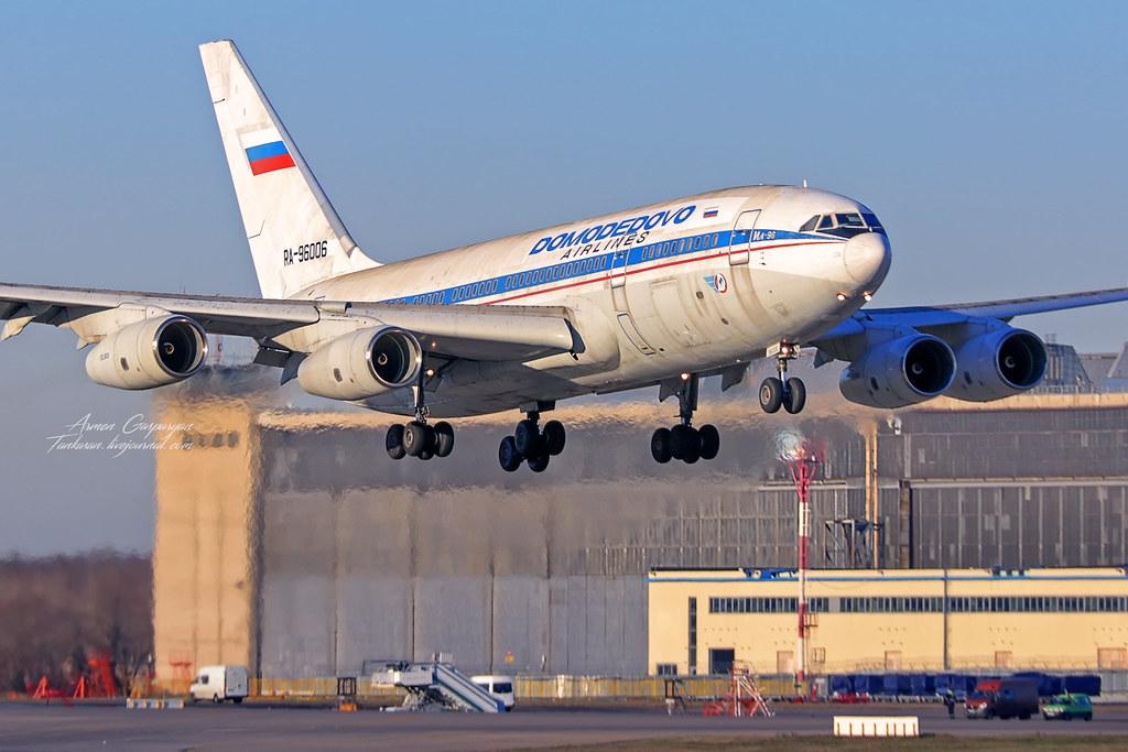 Ил-96 RA-96006