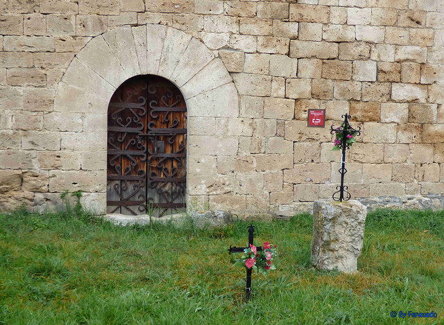 Solsonès 18 -03- Veinats de Guixers i Valls -05- Sant Martí de Guixers (Romànic) -04- Cara sur 02 Puerta