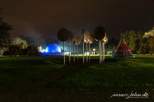 UN Climate Change Conference COP23 Bonn 2017 - Löffelwald at Midnight