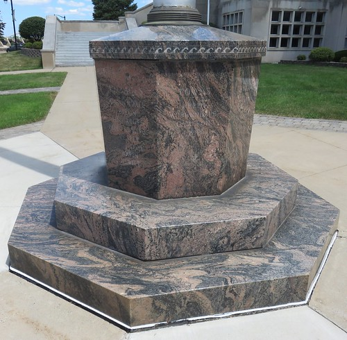 Wood County Courthouse Flagpole Base (Wisconsin Rapids, Wisconsin)