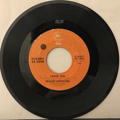 MINNIE RIPERTON:LOVIN' YOU(RECORD SIDE-A)