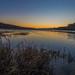 Basha Kill Sunset Glow by John Kocijanski