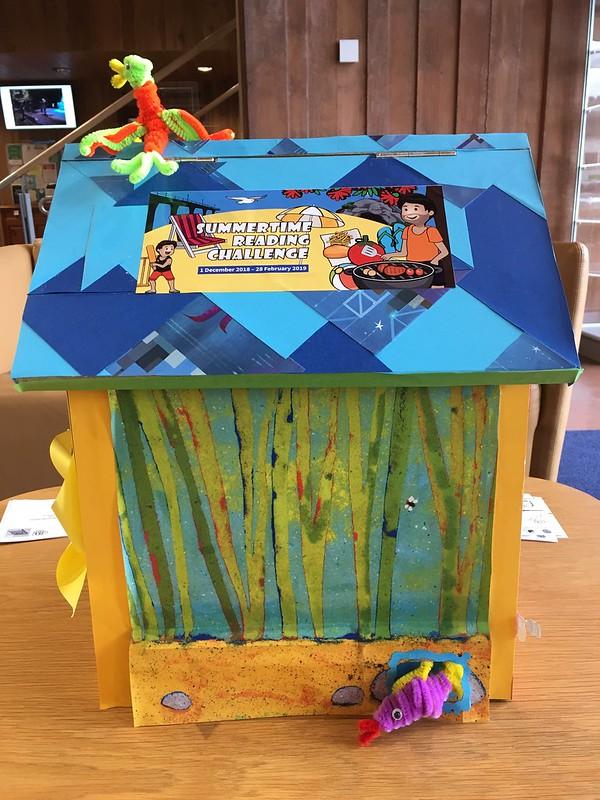 Matuku Takotako: Sumner Centre Summertime Reading Challenge postbox
