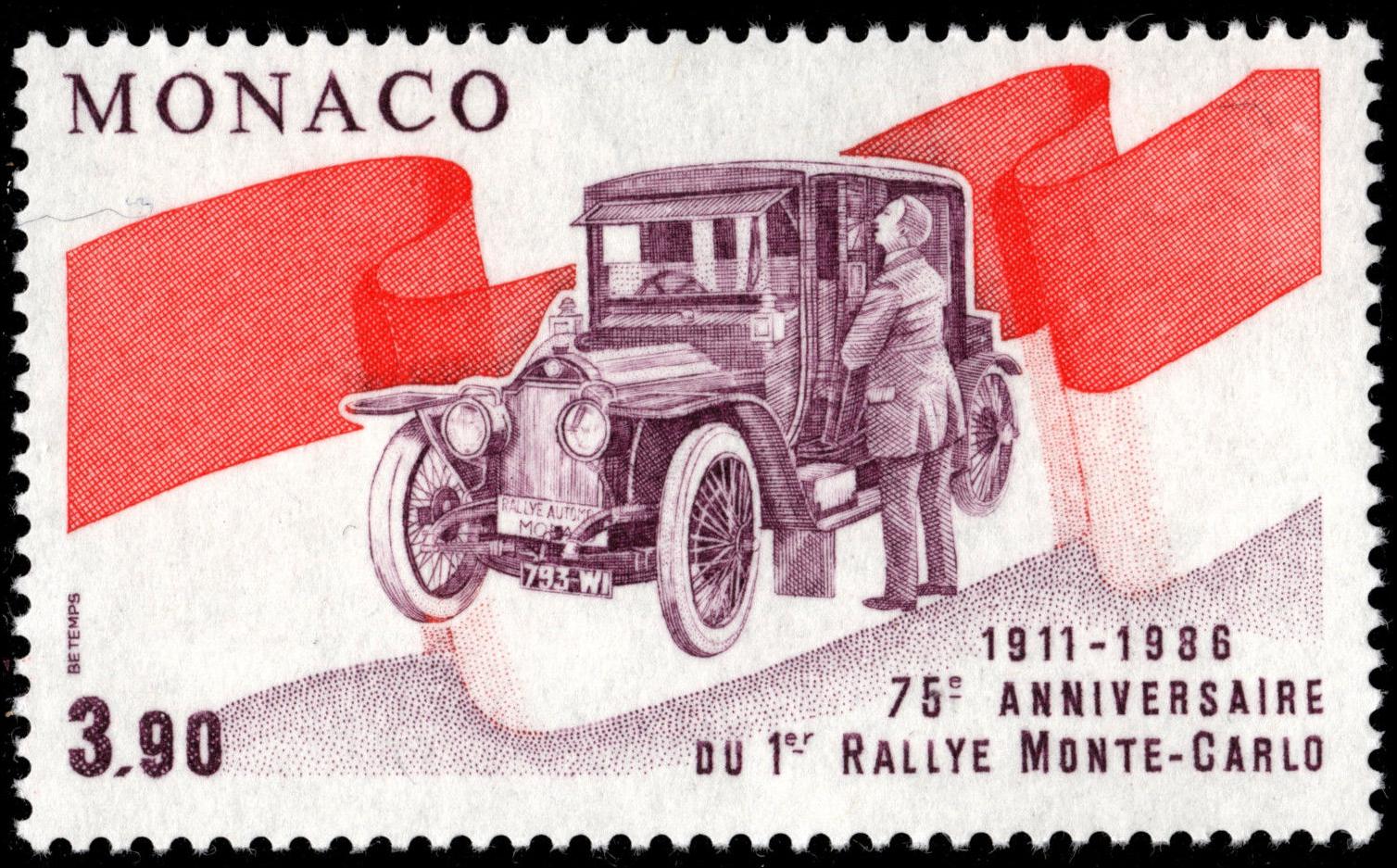 Monaco - Scott #1542 (1986)
