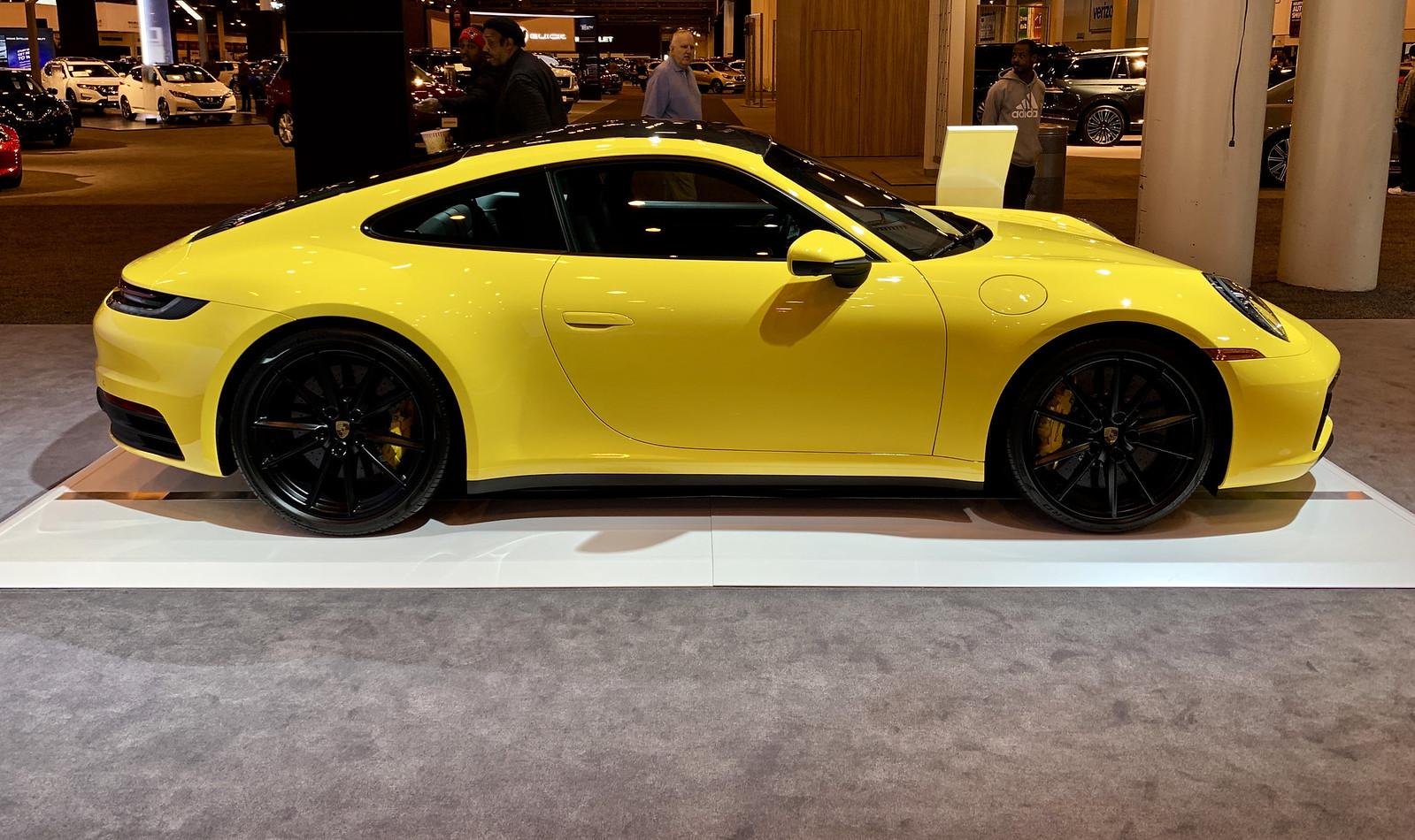 Machinery 2019 Houston Auto Show - Porsche 911