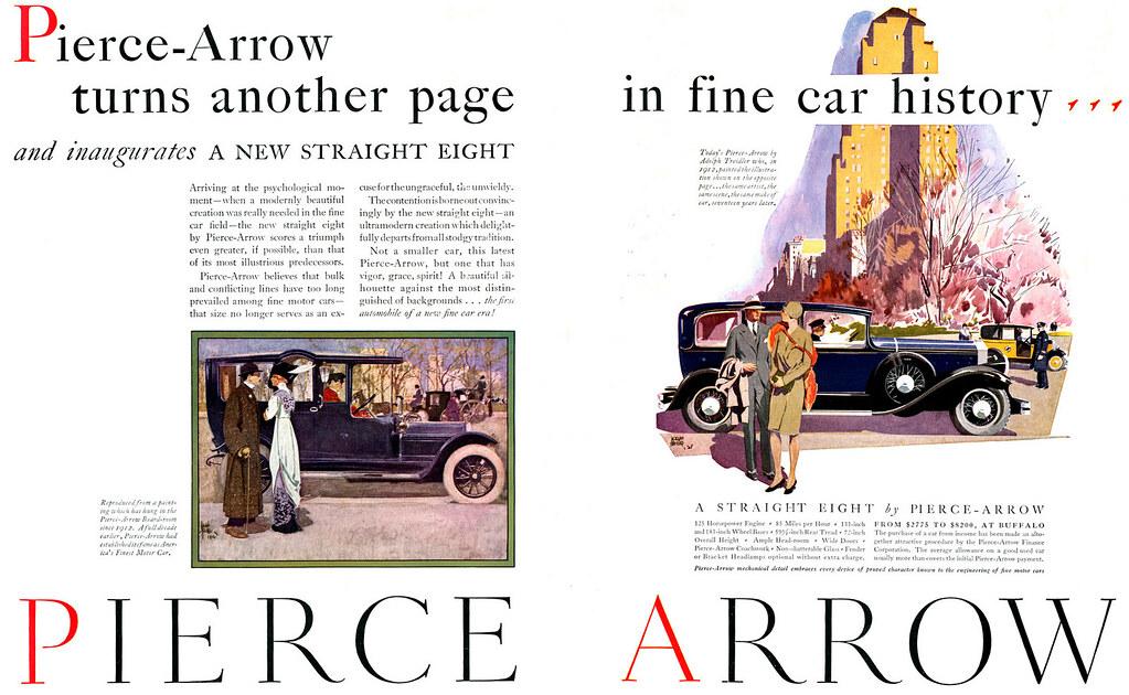 1929 Pierce-Arrow
