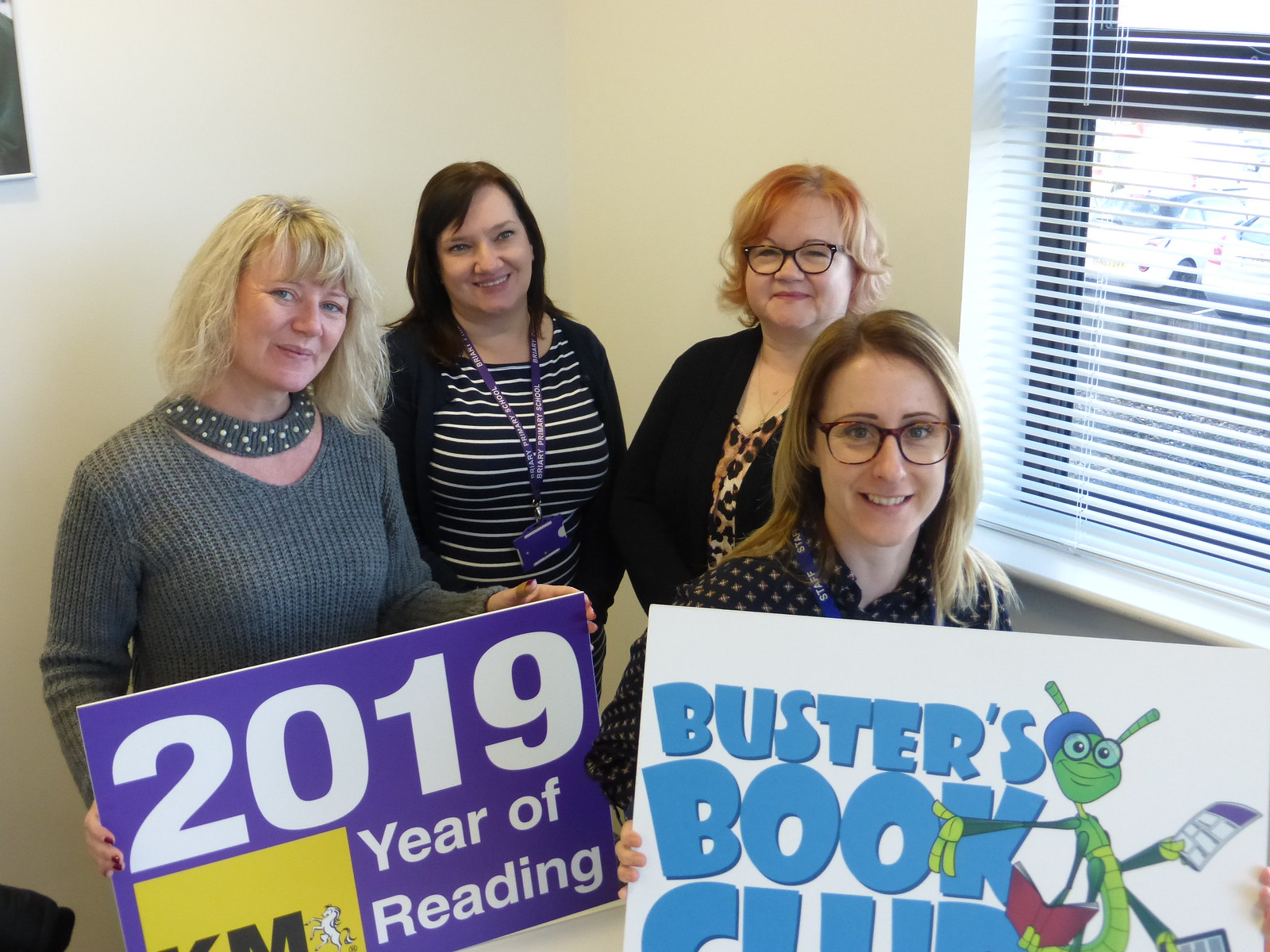 KM Year of Reading and Buster's Book Club launch