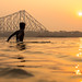 Last Light, Setting Sun, Kolkata by Geraint Rowland Photography