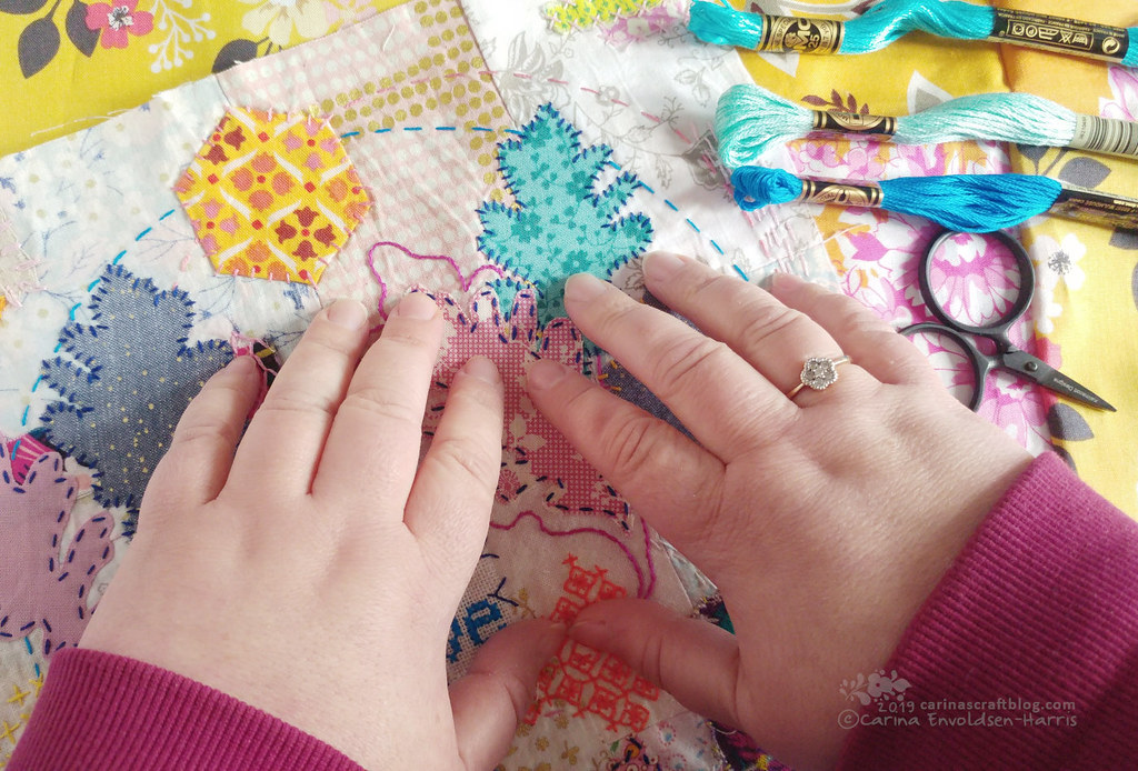 A maker's hands