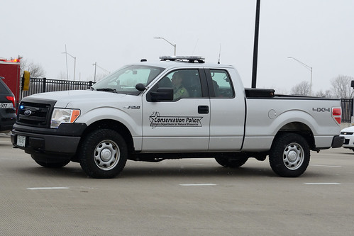 Illinois Conservation Police Ford F150