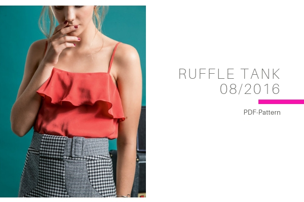 Ruffle Tank
