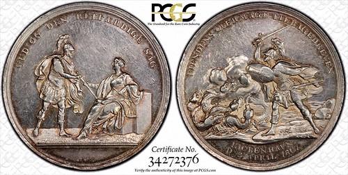 Hydra Battle of Copenhagen medal