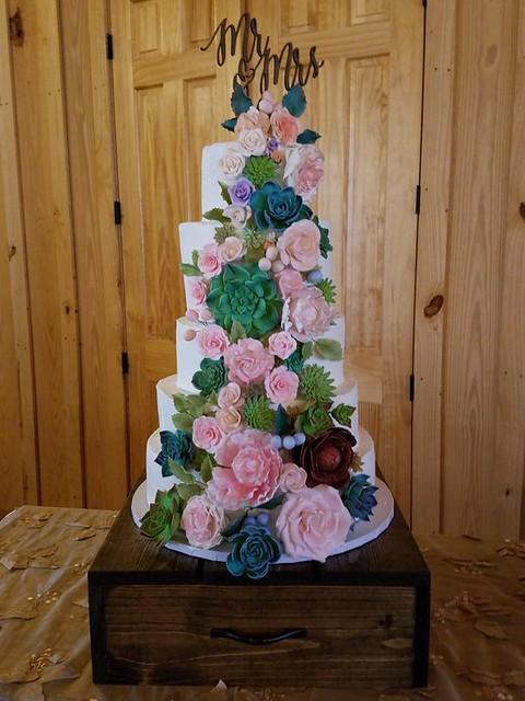 Cake by Vernele's Bayou Bakery