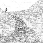 04/12/2018 - PDI. League 3.. Figure on the Giant's Causeway by Paul Lambeth