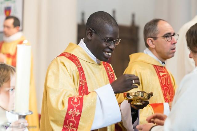 Ordination diaconale en vue du sacerdoce d'Elom Gayibor