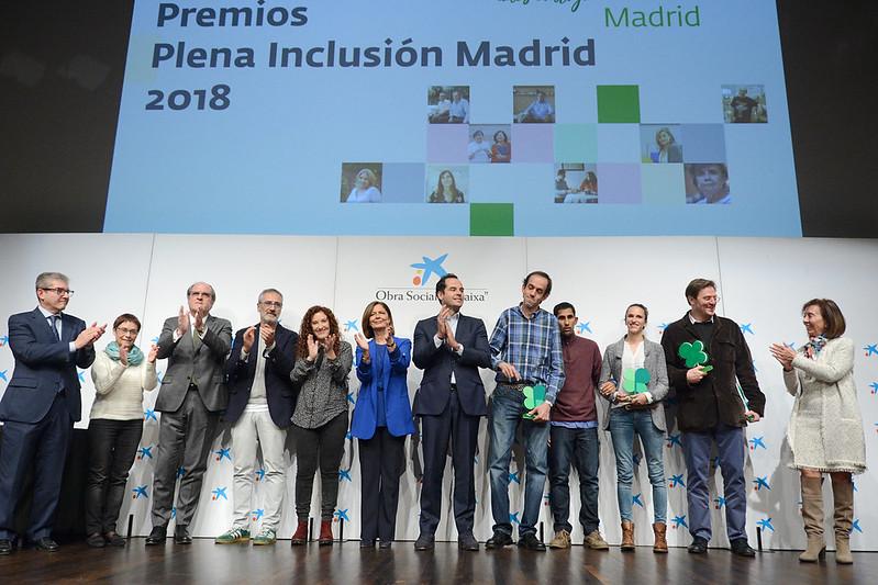 Premios Plena Inclusión Madrid 2018