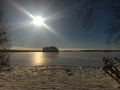 Décembre sur le lac ..