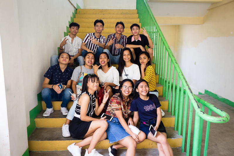 203 EDITS Group Pictures of Christmas Party 2018 at PNHS Baclaran